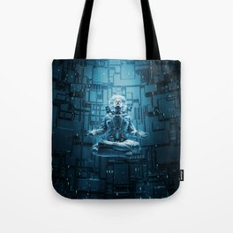 Astro Lotus Tote Bag