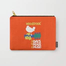 Woodstock, the biggest music festival in the 60s Carry-All Pouch