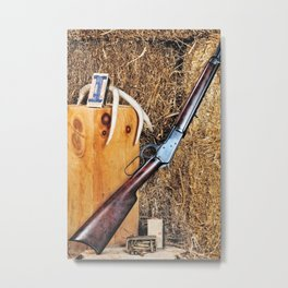 Winchester Rifle Metal Print