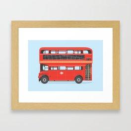 On The Road (Routemaster) Framed Art Print