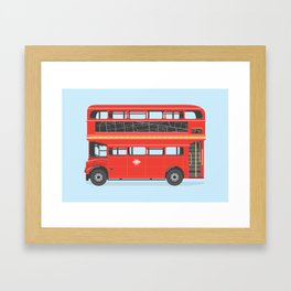 On The Road (Routemaster) Framed Art Print