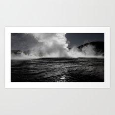 Tatio Geysers / Atacama  Art Print