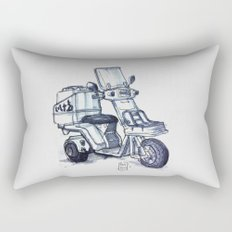 Honda delivery scooter japan Rectangular Pillow