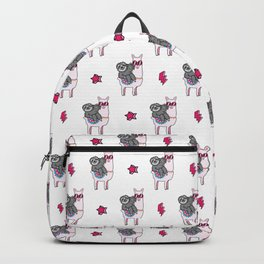 Sloth Music Llama Backpack