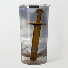 Sword of Llanberis Snowdonia Travel Mug