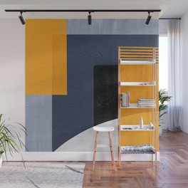 Abstract Geometric Space 1 Wall Mural