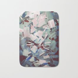 Abstract Stone Chaos Bath Mat