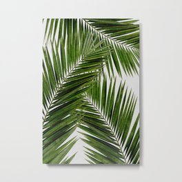 Palm Leaf III Metal Print