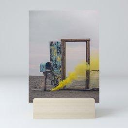The Door to Nowhere Fast Mini Art Print