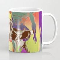 queen Mugs featuring Queen by Alec Goss