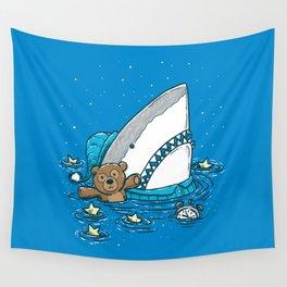The Sleepy Shark Wall Tapestry
