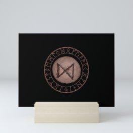 Dagaz - Elder Futhark rune Mini Art Print