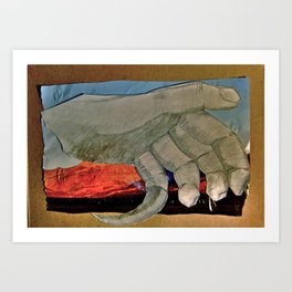 Clawed Hand Art Print