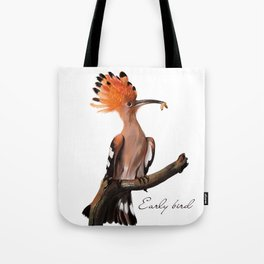 Early bird Tote Bag