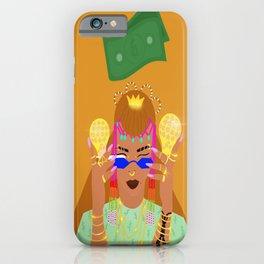 Little Queen Big Money iPhone Case
