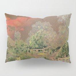 English Garden Sunset Pillow Sham