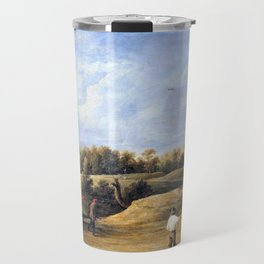 12,000pixel-500dpi - The Archery Contest - David Teniers the Younger Travel Mug