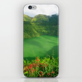 Lake in Azores iPhone Skin