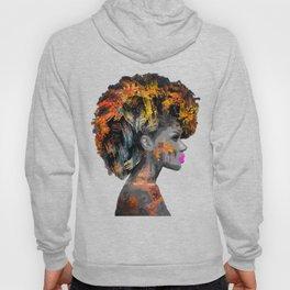 Afro-Girl Hoody