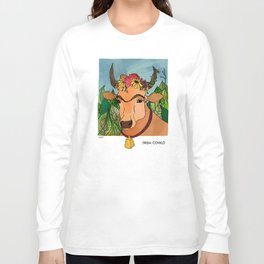 Frida Cowlo Long Sleeve T-shirt
