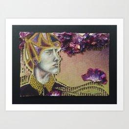 Flower Dreamer Art Print