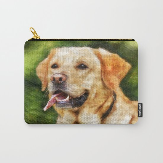 Golden Labrador Carry-All Pouch