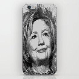 Hillary Clinton iPhone Skin