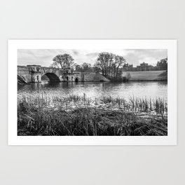 Blenheim, England Art Print