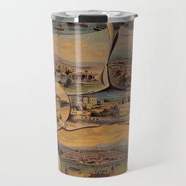 Oriental railways to Constantinople Travel Mug