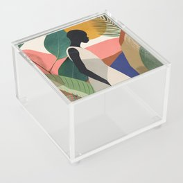 Tropical Girl Acrylic Box