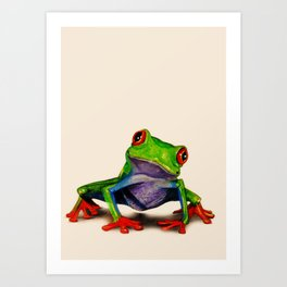 Mr. Ribbit Art Print