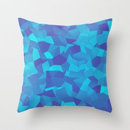 Geometric Shapes Fragments Pattern pb Throw Pillow
