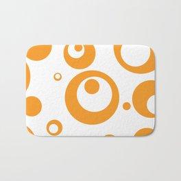 Circles Dots Bubbles :: Marmalade Inverse Bath Mat