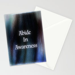 Abide In Awareness Inspiration Stationery Cards