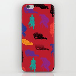Figures iPhone Skin