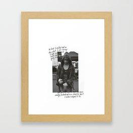 Alex Gaskarth - All Time Low Framed Art Print