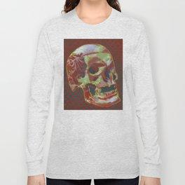 Stencil Skull 1 Long Sleeve T-shirt