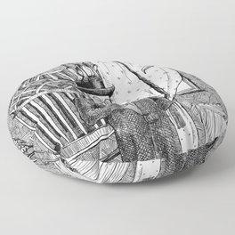 Metal Menagerie Floor Pillow