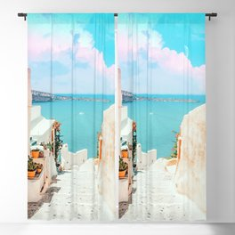 Surreal Greece #photography #travel Blackout Curtain