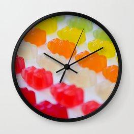 Gummy Bears Rainbow Wall Clock