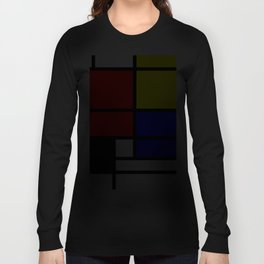 Mondrianista Long Sleeve T-shirt