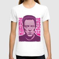 christopher walken T-shirts featuring Christopher Walken by Mike Wrobel