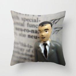 Ninny Neuron Throw Pillow