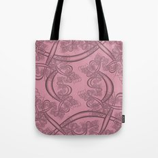 Can Can Fractal Tote Bag