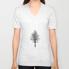 Zen Trees Unisex V-Neck