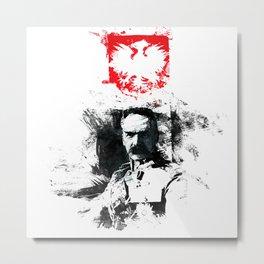 Polska - Marszałek Piłsudski Metal Print