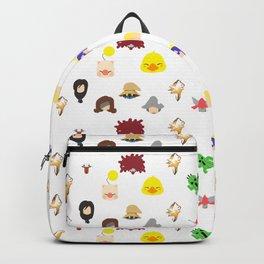 ff 9 pattern Backpack