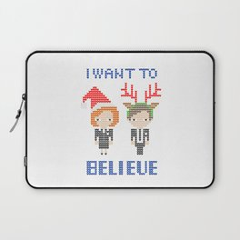 I Want To Believe: Christmas Edition Laptop Sleeve