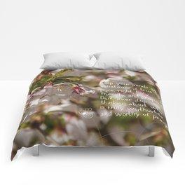 Worthy of praise Comforters