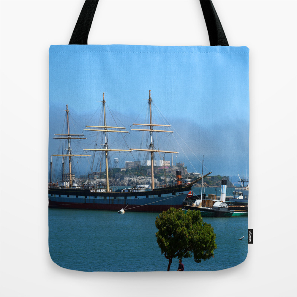 Maritime Museum View Tote Bag by Christianeschulze TBG8613339
